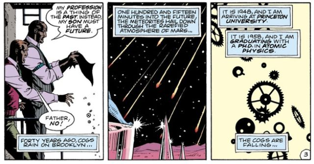 I will never pass up an opportunity to recruit more people to WATCHMEN. But I really did think of it in that moment.